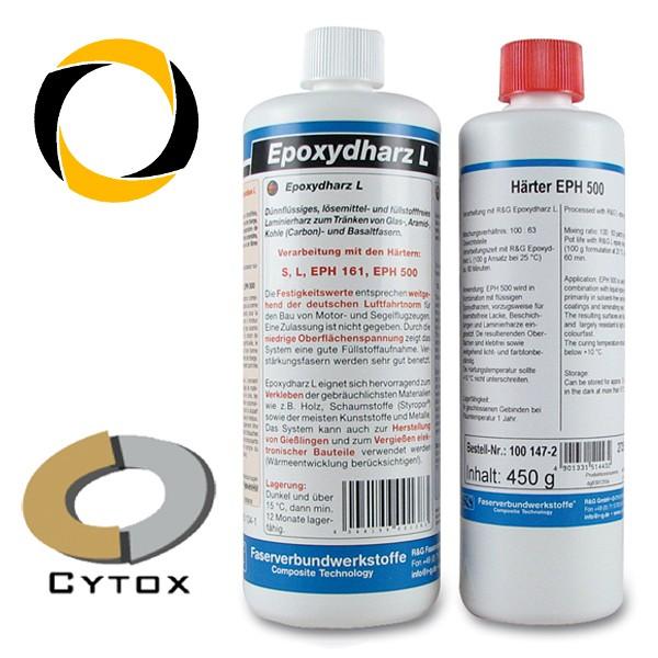 Epoxydharz L + Härter EPH 500, 1.165g